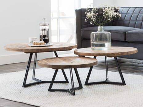 Voorraad salontafels