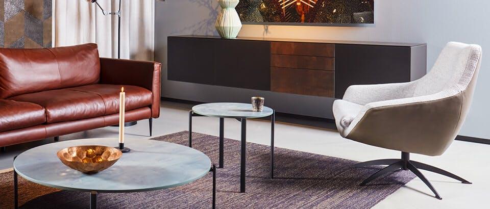 grijze fauteuils Eijerkamp