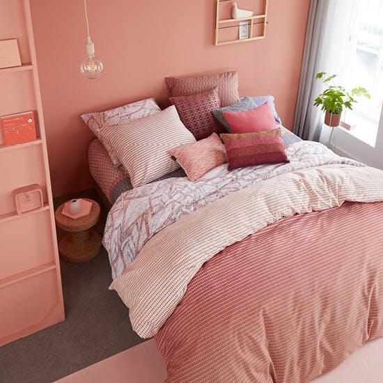 Woontrend 2019 Living Coral slaapkamer