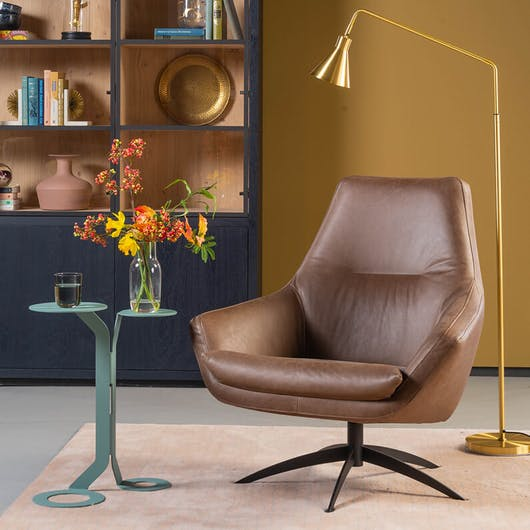 woontrend 2020 Natural Yellow fauteuil