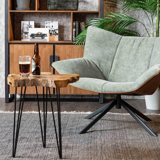woonstijl Industrieel Eijerkamp fauteuils