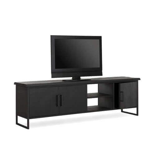 zwarte tv-meubels Eijerkamp