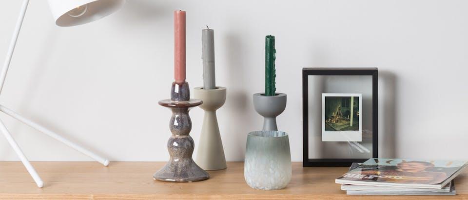 Woonaccessoires kaarsen, kandelaars, theelichten Eijerkamp