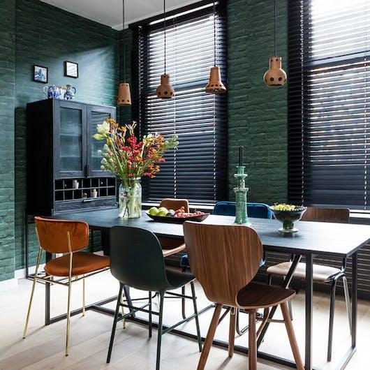 interieuradvies verlichting boven de eettafel