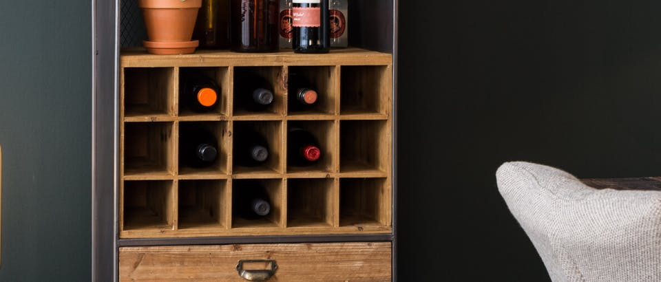 Dutchbone wijnrekken Eijerkamp