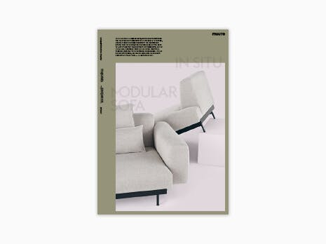 MUUTO catalogus modular sofa 2020