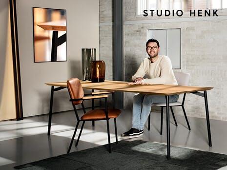 Studio Henk Flyta eettafel exclusief voor Eijerkamp