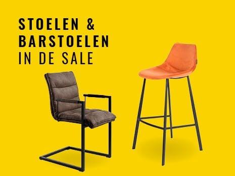SALE stoelen & barstoelen