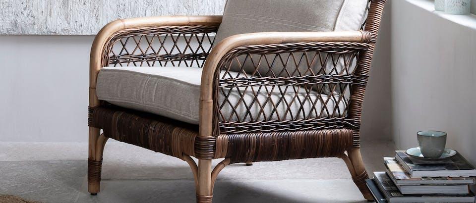 landelijke fauteuils