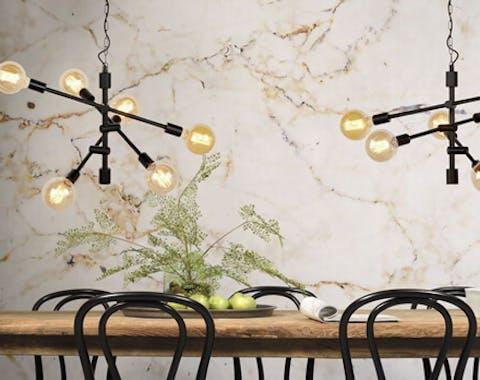 interieuradvies verlichting boven eettafel