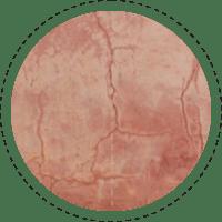 Fotobehangshopz Oude Terracotta muur
