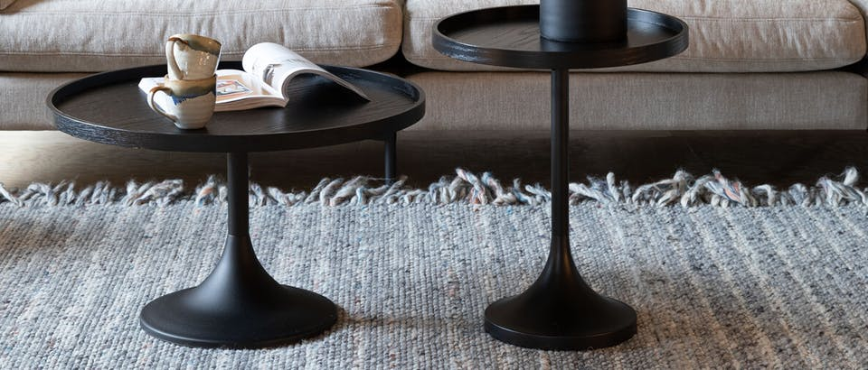 zwarte salontafels