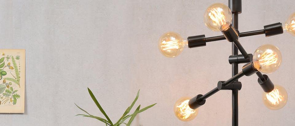 vloerlampen industrieel Eijerkamp