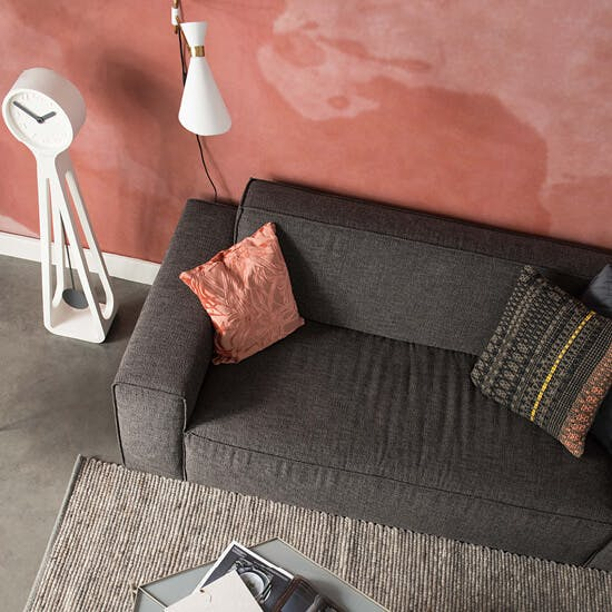 Woontrend 2019 Living Coral bankstel