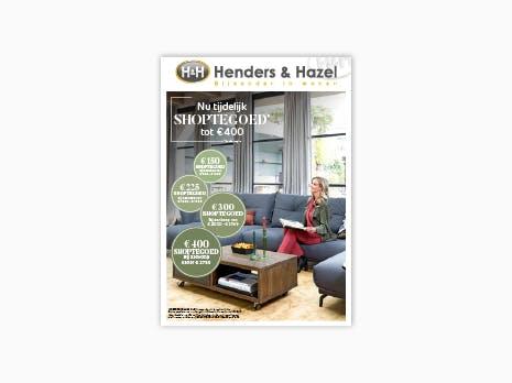 Henders & Hazel folder: geldig 16 september t/m 13 oktober 2021