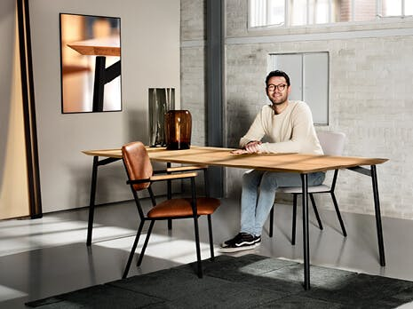 Eijerkamp Special: Studio Henk Flyta eettafel
