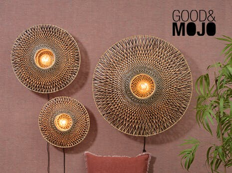 Good & Mojo 20% korting complete collectie
