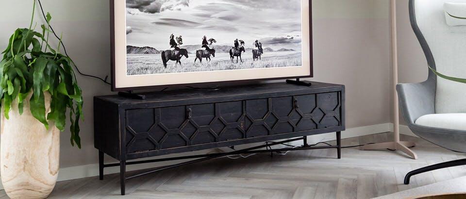 tv-meubels zwart Eijerkamp