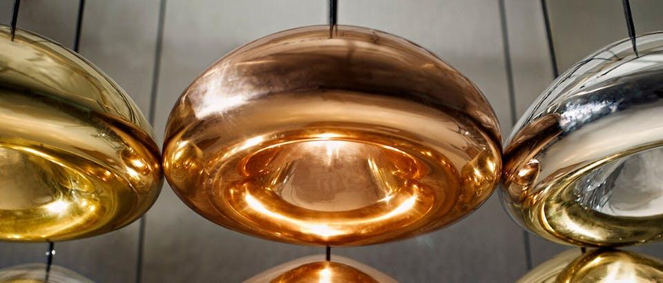 Tom Dixon hanglampen eijerkamp