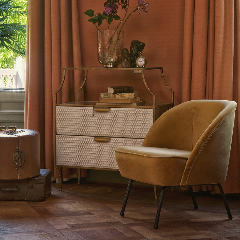 Woontrend 2019 Spiced Honey fauteuil