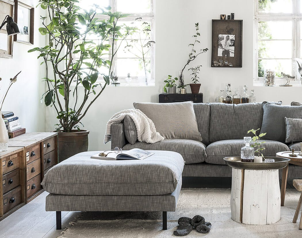 Woontrend 2019 Natural Clay bankstel