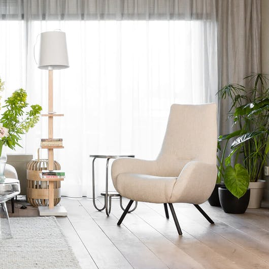 woontrend 2020 Back to Basic fauteuil