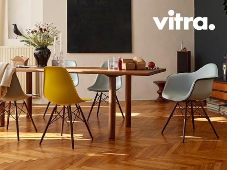Vitra 5+1 gratis stoelen